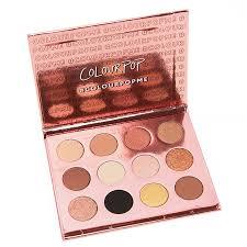 colour pop i think i love you 12 pan pressed powder shadow palette