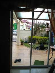 after repair before door frame