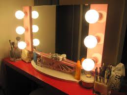 broadway makeup lighted vanity mirror for