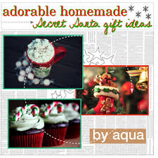 Adorable Homemade Secret Santa Gift Ideas ~Christmas with the Mermaids~