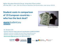Student costs in comparison - Who has the best deal?