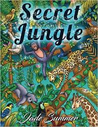 amazonsmile secret jungle an coloring book with stress relieving designs inspirational nature scenes and relaxing tropical landscapes