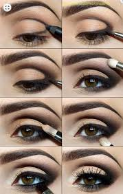 y eye makeup tutorials poolside glitter dess easy guides on how to do smokey