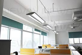 office light fixture. Suspended Office Pendant Lighting Simple White Lamp Chandelier Hanging Ceiling Tube Decoration Contemporary Light Fixture T