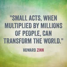 Image result for howard zinn quotes to be hopeful in bad times