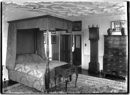 Charming Bedroom Inside Poundisford Park, Near Pitminster, Somerset C.1920s