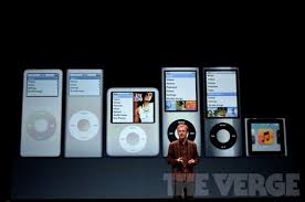 Ipod Classic Generations Chart Apple Confirms Ipod Nano And Ipod Shuffle Have Been