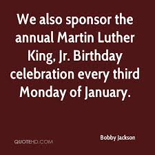 Image result for the third Monday of January.