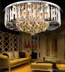 high end lighting fixtures. Crystal Chandeliers Modern Simple Design High End K9 Round Chandelier Led Ceiling Lighting Living Room Bedroom Fixture Small Fixtures .