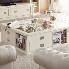 Storage Living Room Coffee Table With Storage For A More Organized Living Room