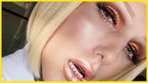 summer bronze glow metallic lips makeup tutorial jeffree star beauty