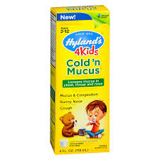 Hylands Kids Cold And Mucus