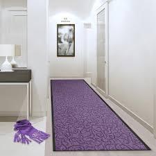 stairway floor runner brasil purple