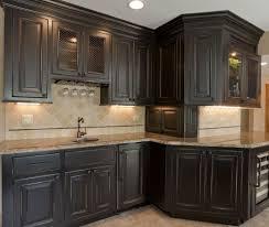 dark wood kitchen cabinets. Brilliant Dark Antique Black Kitchen Cabinets Kitchens With New Ideas Wood  For Dark