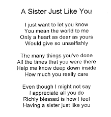 I Love You Sister Quotes