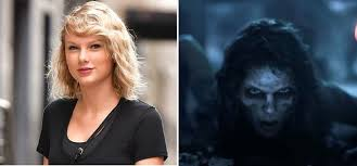 watch taylor swift transform into a zombie for her look what you made me do video