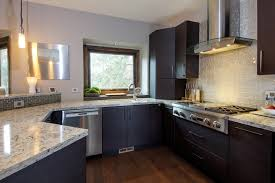Small Picture Cool Kitchen Backsplash Glass Tile Dark Cabinets Luxury Marvelous