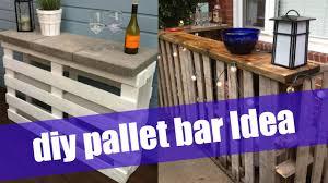 diy pallet bar. DIY Pallet Bar Diy T