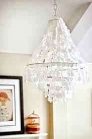 capiz shell chandelier faux shell pendant capiz shell chandelier world market
