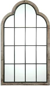 large arched mirror. Arched Floor Mirror Large Uttermost Lightly Burnished Reclaimed Pine Gray Wash Oversized Arch .