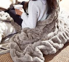gray faux fur throw. Contemporary Throw Scroll To Next Item On Gray Faux Fur Throw G