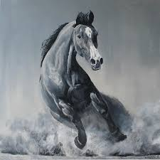 horse painting wild horse by willem arendsz