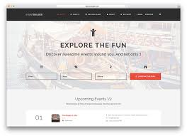 Event Website Template Wonderful 24 Awesome WordPress Themes For Conference And Event 24 Colorlib