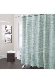 lush décor rosely shower curtain in sea green