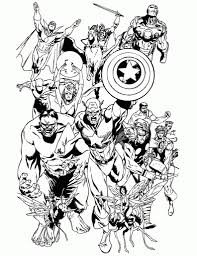 Small Picture Free Printable Avengers Coloring Pages H Amp M Coloring Pages