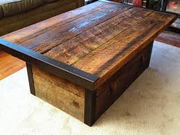 decoration in rustic wood and iron coffee table with best rustic wood table ideas home and gardens