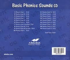 Abeka Basic Phonics Sounds Cd Grades 2 3