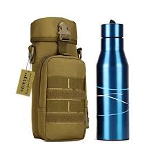 huntvp military water bottle pouch