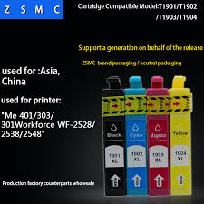 Us 3 8 4pcs Compatible Epson 190 T1901 Ink Cartridge For Me 401 Printer In Ink Cartridges From Computer Office On Aliexpress 11 11_double