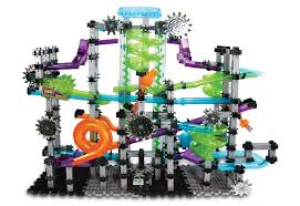 old marble toys interactive electronic marble run set sharper image