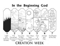 creation coloring sheet 7 days of creation coloring pages creation coloring pages 6 days of