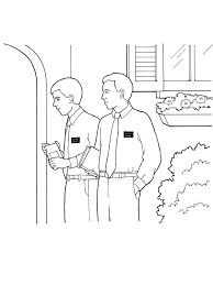 Small Picture Missionary Coloring Page Lds creativemoveme