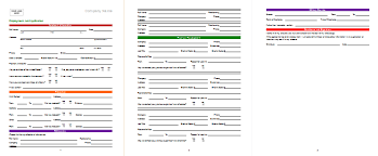 job application form template job application template best sample that works