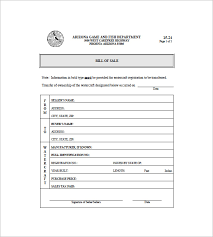 Bill Of Sales Generic Fascinating Boat Bill Of Sale 48 Free Word Excel PDF Format Download Free