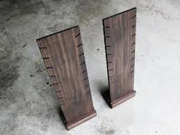 Wooden Necklace Display Stands