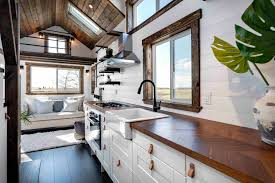 Mint Design Homes Inside The Stylish Tiny House That Can Travel The Country