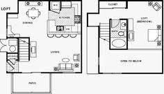 ... Bright And Modern Loft Apartt Floor Plans 4 Style Apartment On Decor  Ideas ...