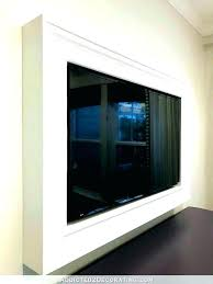 mirror tv covers lectric diy mirror cabinet tv cover