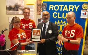 South Pasadena Rotary President-Elect Charles Wiggington ...