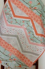 Baby Quilt, Girl, Woodland, Cottage, Coral, Mint, Birds, Branches ... & Baby Quilt, Girl, Woodland, Cottage, Coral, Mint, Birds, Branches Adamdwight.com