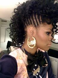 Black Hairstyles Mohawks Natural Braided Mohawk Hairstyles For Black Women Natural Braided