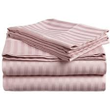 darby home co rieger 300 thread count premium long staple combed cotton stripe waterbed queen sheet set color lavender