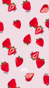 Strawberry Aesthetic Wallpapers ...