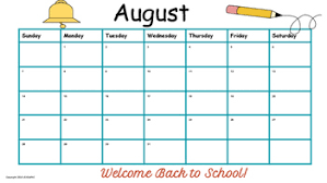 School Calendar Templates Traditional School Calendars Templates