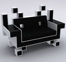cool sofa designs. Cool, Fun, And SO Classic! Designed By Igor Chak, The Space Invader Couch Was Meant To Be \u0027art\u0027, When Art Meets Popular Geek Taste, We At Walyou Smile! Cool Sofa Designs G