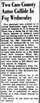 Melvin Caldwell car accident. - Newspapers.com